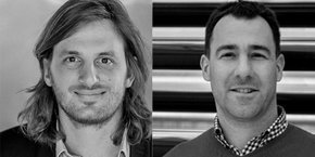 Loïc Soubeyrand (Lunchr) et Vincent Usache (Microphyt, sélectionnés dans la première promotion du French Tech 120.