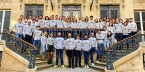 L'équipe de Loisirs Enchères. La startup basée à Bordeaux est sélectionnée dans le programme French Tech 120
