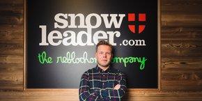Thomas Rouault, le président de Snowleader