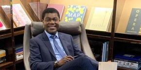Thierry Zomahoun, PDG de l'African Institute for Mathematical Sciences (AIMS) et président fondateur du Next Einstein Forum (NEF).