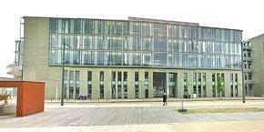 Les locaux de Worldline, situés dans le nouveau quartier des affaires tourangeau des Deux-Lions, gagneront 200 mètres carrés qui viendront s'ajouter aux 2000 mètres carrés actuels.