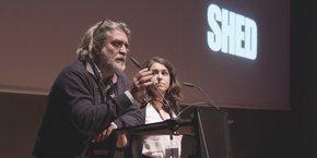 Pierre Rocca, cofondateur de l'Idem, intervient lors du 6e Animation Summit