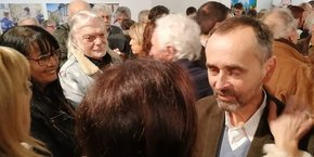 Robert Ménard a inauguré son local de campagne le 29 janvier à Béziers