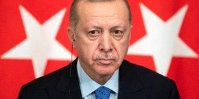 Pour la France, la répétition des provocations turques est particulièrement inquiétante. Pour quelles raisons Erdogan (photo) est-il autant décomplexé à l'égard de Macron ?