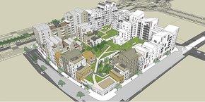 Le futur archipel urbain So Wood, dans le quartier Port-Marianne (ZAC République) à Montpellier, devrait être livré avant l'été 2023.
