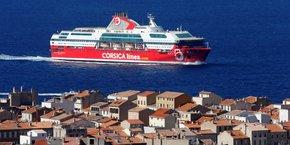 Le trafic maritime des passagers sera interrompu à Corsica Linea dès aujourd'hui mais celui du fret sera assuré.