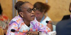 Dr Mashidiso Moeti, directrice de l'OMS Afrique