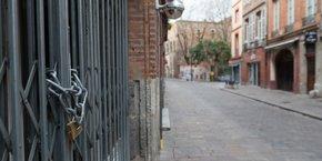 Les commerces sont fermés depuis le samedi 14 mars.