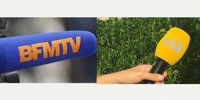 Le rapprochement entre BFM TV et le réseau Vià de chaines de télévision locales validé par le CSA.