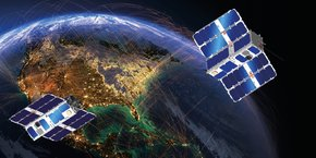 Le développement des deux premiers nano-satellites débute immédiatement, pour un lancement prévu en 2021.