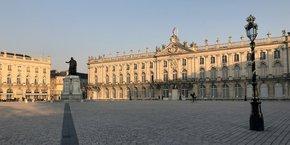 La Place Stanislas, élément du patrimoine architectural du XVIIIème Siècle à Nancy.