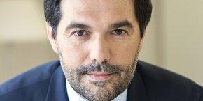 Stéphane Junique, président d'Harmonie Mutuelle. La première mutuelle française lance un fonds ciblant les entreprises qui s'engagent à maintenir ou créer des emplois dans les territoires.