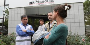 Antoine Maurice (au centre de la photo) a présenté son programme économique dans le cadre des élections régionales en Occitanie de juin prochain.
