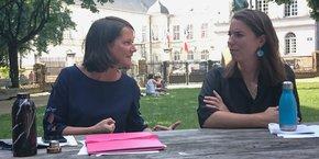 Ex-rivales, Johanna Rolland (PS) et Julie Laernoes (EELV) ont mené d'âpres négociations pour écrire 325 propositions partagées d'un projet où demeurent 5 désaccords majeures.