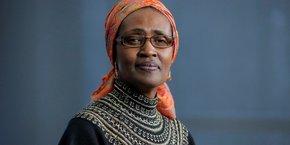 Winnie Byanyima, directrice exécutive de l'Onusida.