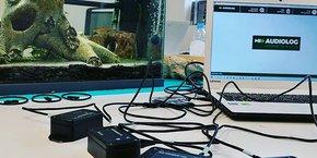 L'Audiolog est un outil de bioacoustique destiné à l'enregistrement de la faune et de son environnement, issu des laboratoires montpelliérains CEFE et LIRMM.