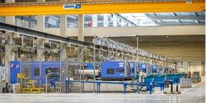 L'usine qui produit des rangements en plastique va bientôt démarrer une activité masques.