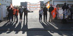 Les salariés d'AAA avaient manifesté contre le plan social en septembre dernier à Toulouse.
