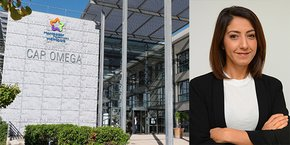 Hind Emad, vice-présidente de Montpellier Méditerranée Métropole, déléguée au développement économique et numérique, accompagnait les entreprises innovantes montpelliéraines au Montpellier Capital Risque à Paris.