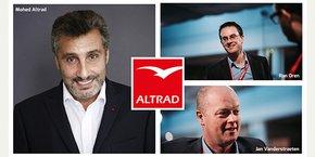 Mohed Altrad vient de nommer Jan Vanderstraeten et Ran Oren  directeurs généraux de son groupe éponyme.