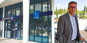 Gilles Mesa, directeur du Réseau Crédit Maritime Méditerranée