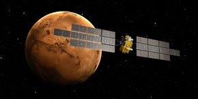 Airbus développe depuis Toulouse l'orbiteur qui sera chargé de ramener sur Terre les échantillons de roche collectées sur Mars.