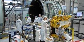 Le Cnes est le maître d'oeuvre du satellite toulousain Taranis.