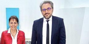 Elena Poincet et Laurent Oudot