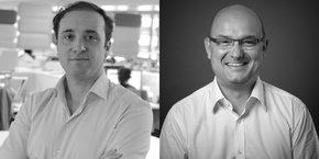 David Eymé et François-Luc Moraud sont respectivement président et chargé de mission du Club commerce connecté de Digital Aquitaine.