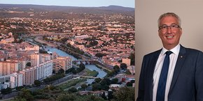 Christophe Rivenq, premier adjoint à la mairie d'Alès et président d'Alès Agglomération.