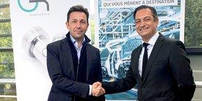 Philippe Rivière, sur la gauche, a fait partie de la délégation des 35 entrepreneurs français à avoir assisté au 12 e sommet du G20 qui se tenait il y a quelques semaines virtuellement, crise sanitaire oblige.