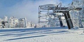 La station de ski Alti Aigoual, en Lozère.