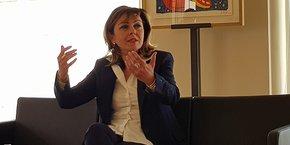 Carole Delga, présidente de la Région Occitanie et future candidate à sa succession aux prochaines élections régionales.