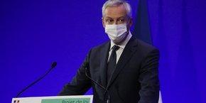 Le ministre Bruno Le Maire souhaite mettre le cap sur l'investissement après avoir privilégié la protection des entreprises pendant la pandémie.