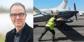 Eric Giraud est le nouveau directeur général du pôle de compétitivité Aerospace Valley.