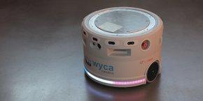 La société toulousaine Wyca Robotics conçoit des robots autonomes d'intérieur.
