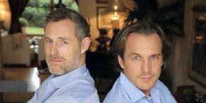 Stéphane van Huffel et Karl Toussaint du Wast, fondateurs de Netinvestissement à Bordeaux.