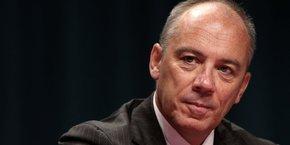 Le PDG d'Orange, Stéphane Richard, porte le projet Orange Bank depuis sa genèse.
