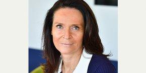 Nathalie Bulckaert Gregoire, directrice du pôle Banque de développement régional de la Caisse d'Épargne du Languedoc-Roussillon.