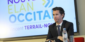 Vincent Terrail-Novès, à la tête de la liste Nouvel Elan Occitan pour les élections régionales, est soutenu par la majorité présidentielle dans ce scrutin.
