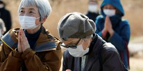 Dix ans apres fukushima, le japon rend hommage a ses victimes