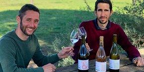 Pierre Maisonnave et Nicolas de Royer, fondateurs de la marque Pierre&Nico.