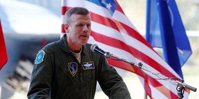 Hier jeudi 15 avril, le général Tod Wolters, le plus haut commandant de l'armée américaine en Europe, a déclaré qu'il y avait un risque faible à moyen que la Russie mène une invasion en Ukraine dans les prochaines semaines. (Photo d'illustration prise le 30 août 2017 en Lituanie, à Siauliai)