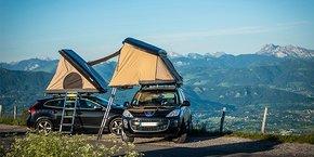 Avec ses tentes de toit, l'entreprise alésienne NaïtUp capte une clientèle de voyageurs itinérants et sportifs de plein air.