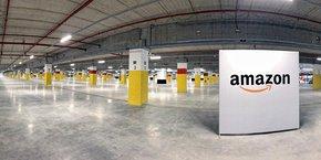 Le nouveau centre de distribution d'Amazon à Metz, sur 182.000 mètres carrés, sera opérationnel début septembre 2021.