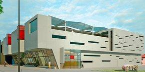 Le futur campus de l'IDEM sur la Cité Digitale du Soler.