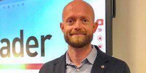 Julien Feja, président du groupe D&S (Bagnols-sur-Cèze) et nouveau président de Leader Occitanie.