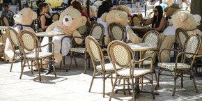 Terrasses Bordeaux restaurants centre-ville
