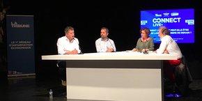 Parmi les intervenants sur la table ronde, Jean Pinard, Sébastien Arnaux et Jean-Guy Amat.