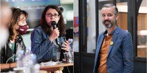 Myriam Martin (LFI) et Antoine Maurice (EELV) regrettent l'attitude de Carole Delga dans l'entre-deux tours des élections régionales en Occitanie.
